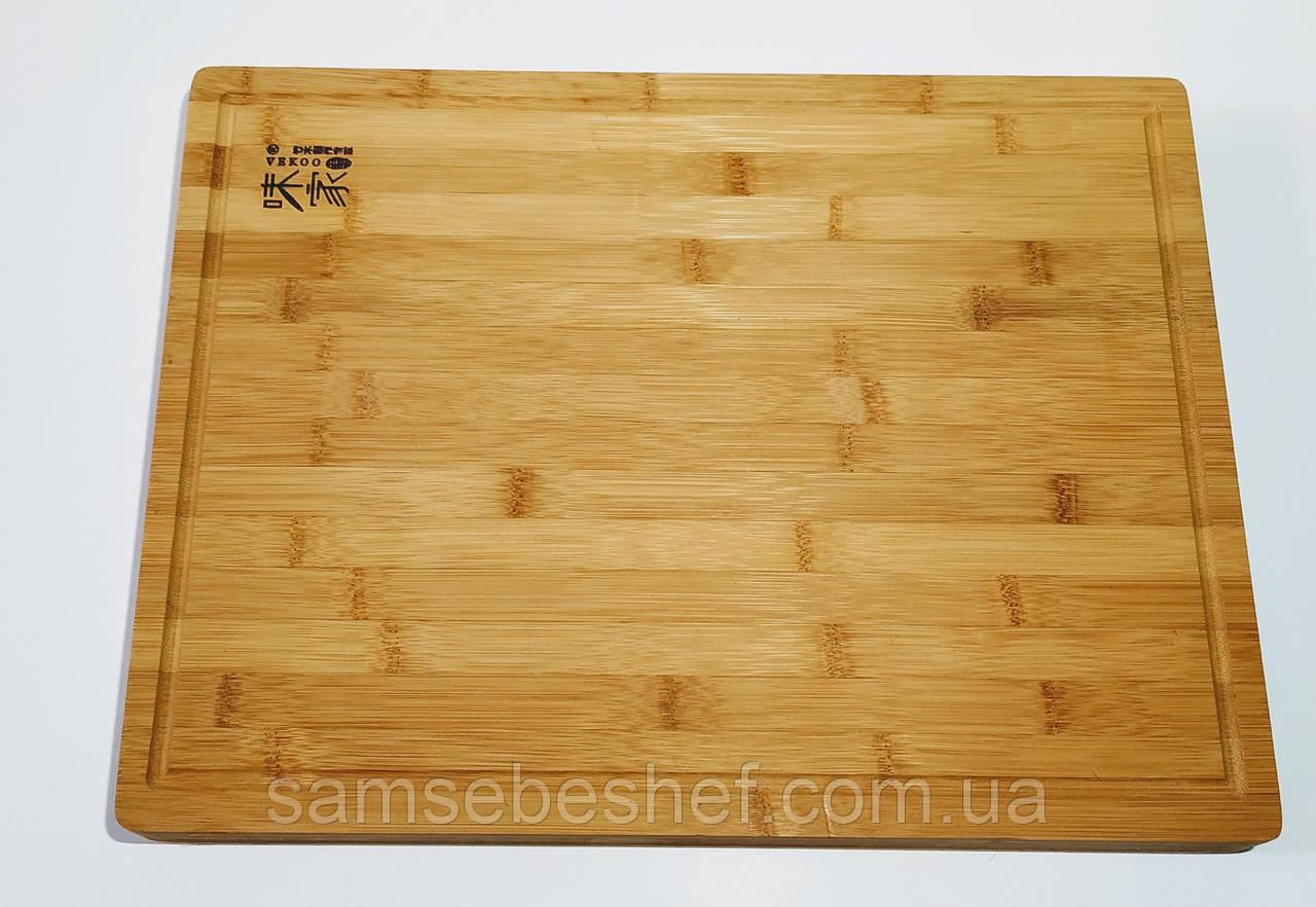 Большая разделочная доска деревянная 45х34х4 см GA Dynasty 193406