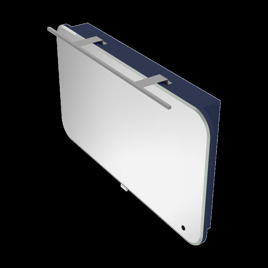 Зеркальный шкаф для ванной комнаты BOTTICELLI Velluto VltMC-100-blue