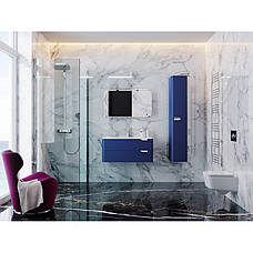 Зеркальный шкаф для ванной комнаты BOTTICELLI Velluto VltMC-100-blue, фото 2