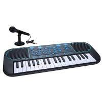 Муз.инст FIRST ACT DISCOVERY ELECTRONIC KEYBOARD BLUE STARS пианино с микрофон.