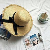 Шляпа канотье широкая женская купить в Одессе