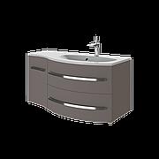 Тумба под раковину для ванной комнаты BOTTICELLI Vanessa Vndr-110-dark melon с умывальником Vanessa 110