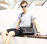 Винтажная  сумка мужская, фото 9