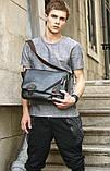 Винтажная  сумка мужская, фото 10