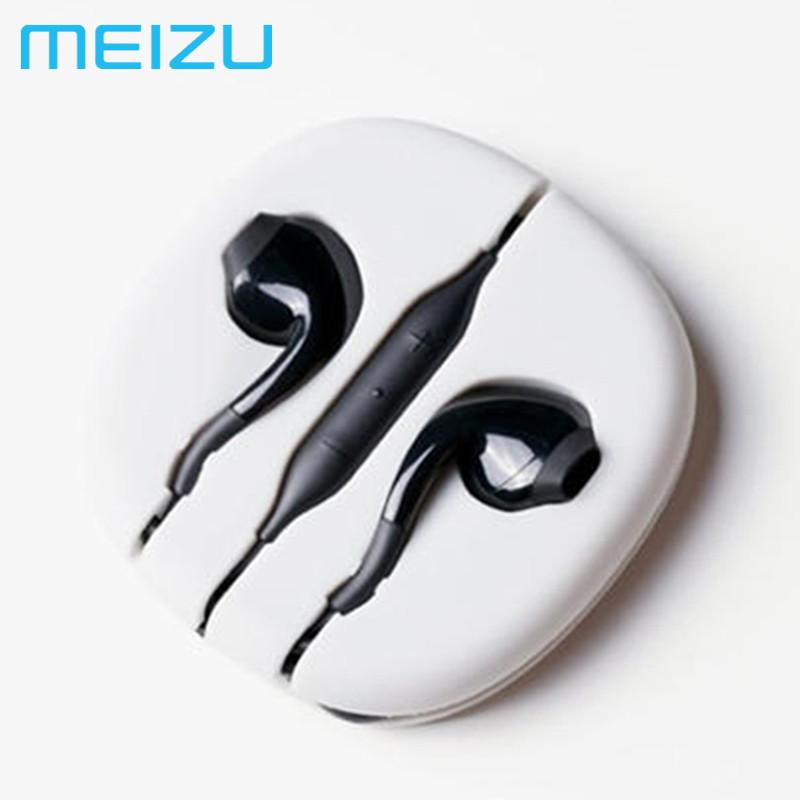 Гарнитура Meizu EP2X, Black, наушники мейзу с микрофоном для телефона