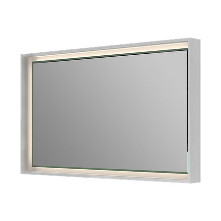 Зеркало для ванной комнаты BOTTICELLI Torino TrM-100-white, фото 2