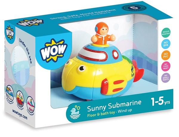 Іграшка для купання Підводний човен Софі WOW TOYS