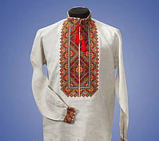 Мужская вышиванка в украинском стиле