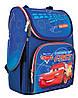 """Рюкзак шкільний каркасний 1 Вересня H-11 """"Cars"""" синий (556154)"""