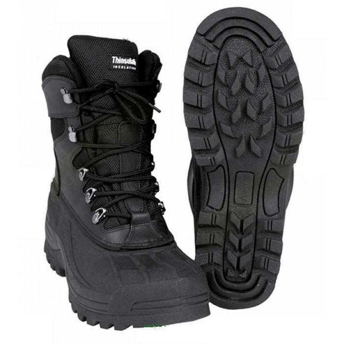 Тёплые зимние ботинки с неопреновым вкладышем MilTec Thinsulate TERMOS