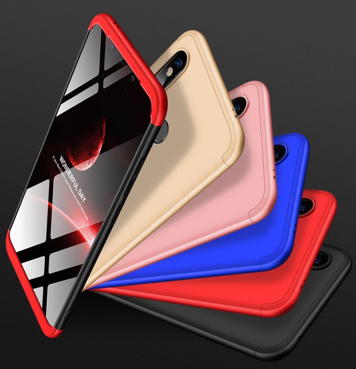 Противоударный чехол GKK LikGus 360 градусов для Samsung Galaxy M20 SM-M205F