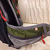 Велорюкзак в стиле North Face 15 литров синий зеленый - Фото
