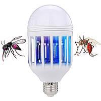 Светодиодная лампа уничтожитель от комаров и насекомых Zapp Light