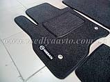 Ворсовые коврики в салон Nissan Leaf (Серые), фото 3