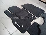 Ворсовые коврики в салон Nissan Leaf (Серые), фото 6