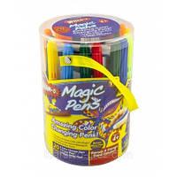 Волшебные фломастеры меняющие цвет Magic Pens 20 шт + распылитель