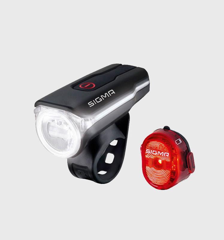 Велофонарь Sigma Aura 60 USB K-SET