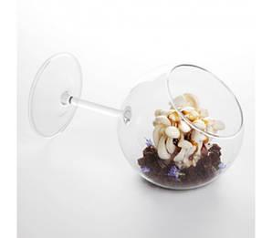 Креманка/бокал наклонный 350 мл. лежачий бокал, боросиликатное стекло Siesta, 100% Chef