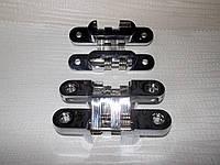 Петля скрытого монтажа 95х18 хром, фото 1