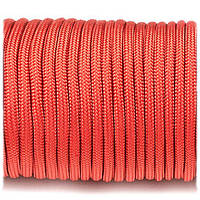 Paracord Type III 550 4 мм  259 кг red #021
