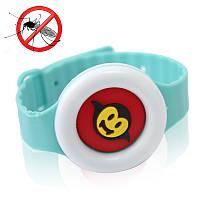 Детский антимоскитный браслет часы от комаров и мошек 150724