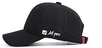Кепка бейсболка All pass (черная)