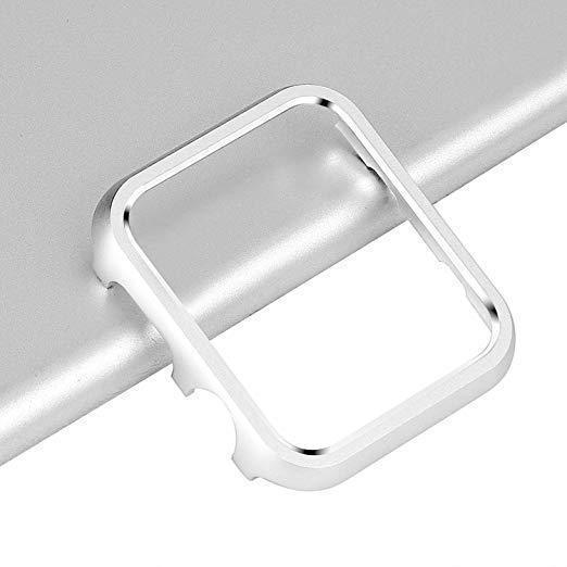Защитный бампер для смарт часов Apple Watch 42 мм. Silver