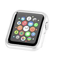 Защитный бампер для смарт часов Apple Watch 42 мм. Silver, фото 5