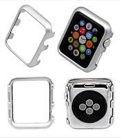 Защитный бампер для смарт часов Apple Watch 42 мм. Silver, фото 7