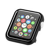 Защитный бампер для смарт часов Apple Watch 38 мм. Black, фото 5