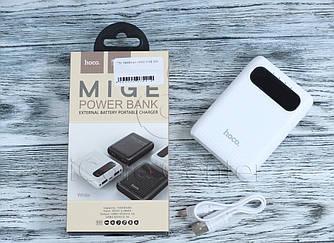 Внешний аккумулятор 10000мАч Hoco B20 - Белы