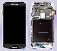 Модуль Дисплей с Тачскрином и рамкой Samsung Galaxy S4 I9500 Black Оригинал