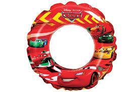 """Детский надувной круг для плавания Intex 58260 """"Тачки"""", от 3 до 6 лет, диаметр 51 см"""