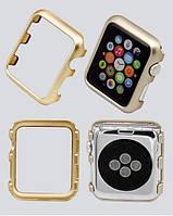 Защитный бампер для смарт часов Apple Watch 44 мм. Gold, фото 7