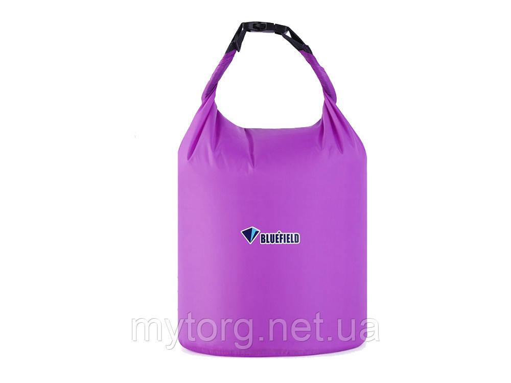 Водонепроницаемый мешок для рафтинга, кемпинга и туризма Bluefield 40L Фиолетовый