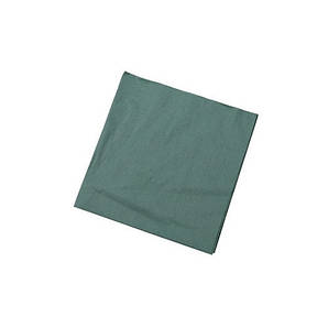 Салфетка темно-зеленая 2 слоя 33х33 см 100 шт/уп