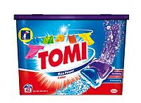 Капсулы для стирки Tomi Max Power Color 42шт. (Австрия)