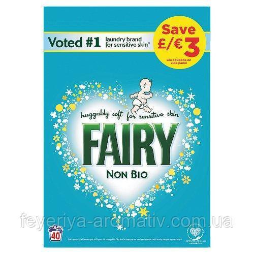Порошок для стирки детской одежды Fairy Non Bio 2,6кг (40 стирок) Германия