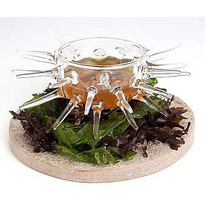 """Креманка 125 мл. """"Морской ёж"""" боросиликатное стекло 100% Chef"""