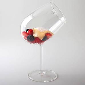 Креманка/бокал наклонный 325 мл. с ручкой, боросиликатное стекло Chardonnay, 100% Chef