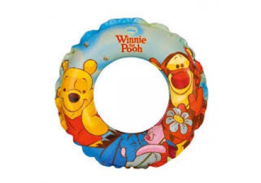 """Детский надувной круг для плавания Intex 58228 NP """"Винни Пух"""", диаметр 51 см, от 3-х лет"""