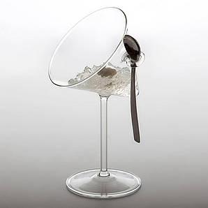 Креманка/бокал наклонный 60 мл. с ручкой, боросиликатное стекло Dry, 100% Chef