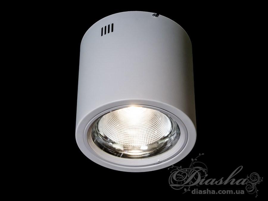 Накладної світлодіодний точковий світильник 30W&DB-SR225-COB-30W-W