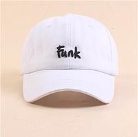 Кепка бейсболка Funk (белая)