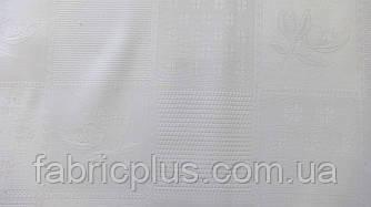 Лен скатертный белый  ш-150 см