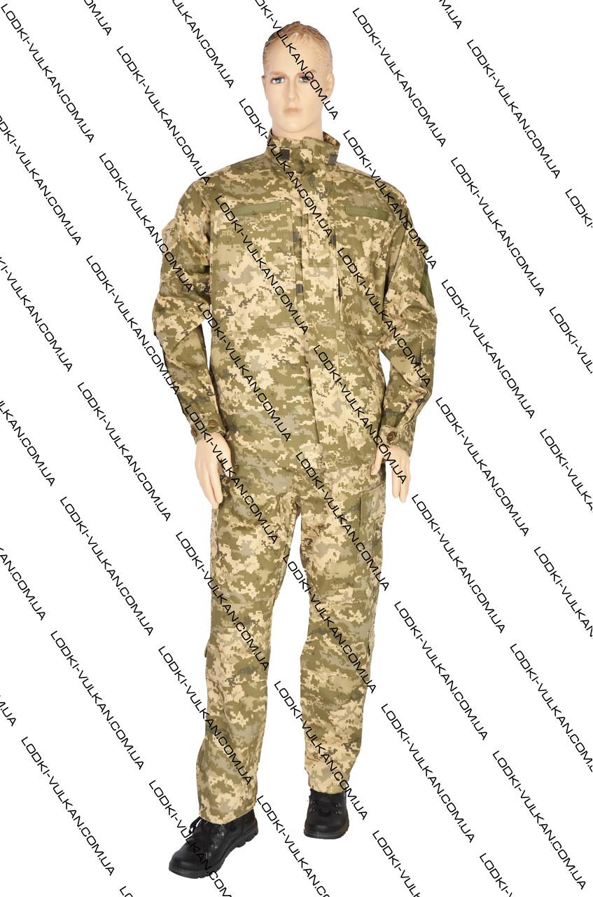 Украинский военный, летний костюм: Нацгвардия рубаха 100% хлопок