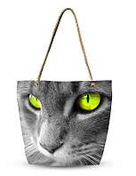 Сумка Кот Зеленый Глаз, фото 1