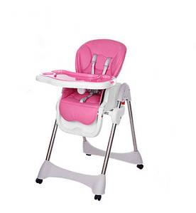 Стульчик для кормления Bambi M 3216-2-8 Pink