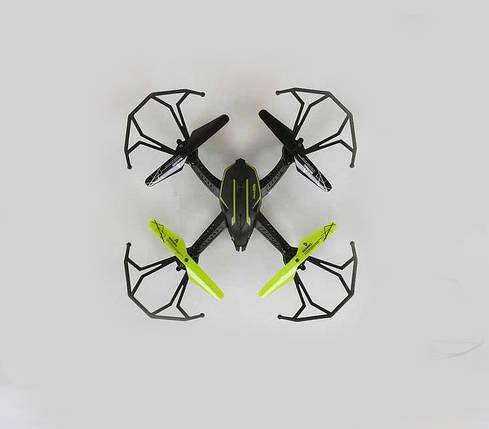 Квадрокоптер СН 201 гироскоп, без камеры, LED маячок, 2 цвета, фото 2