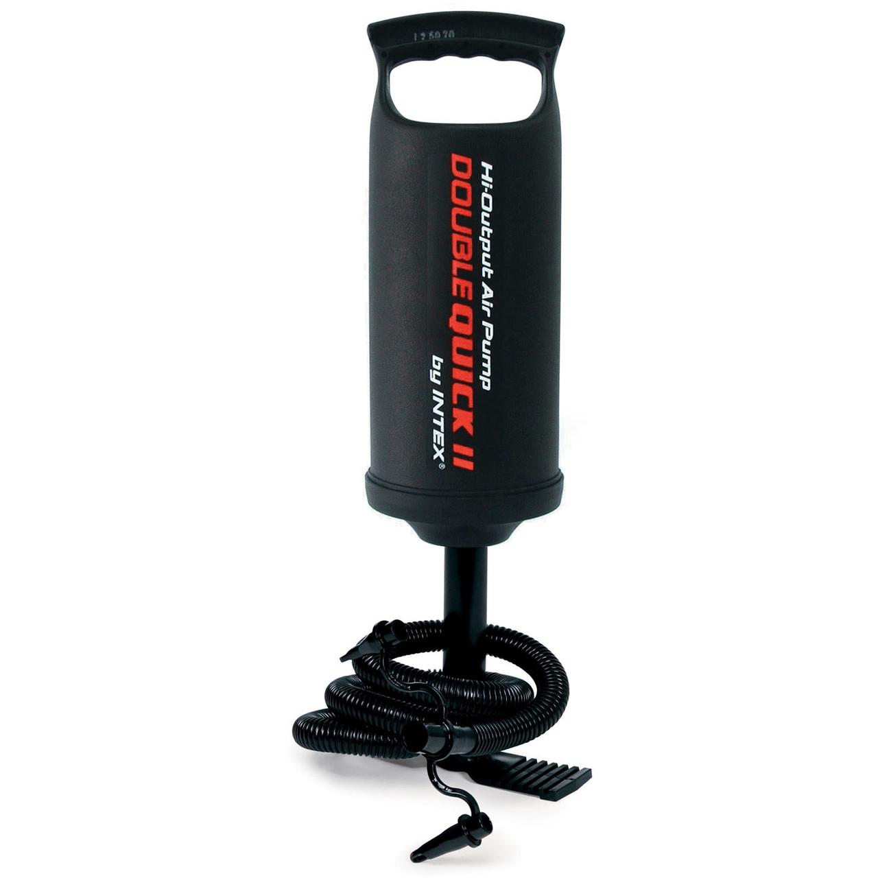 Ручной насос для надувания Intex 68614 (объем 2 л, высота насоса 36 см)